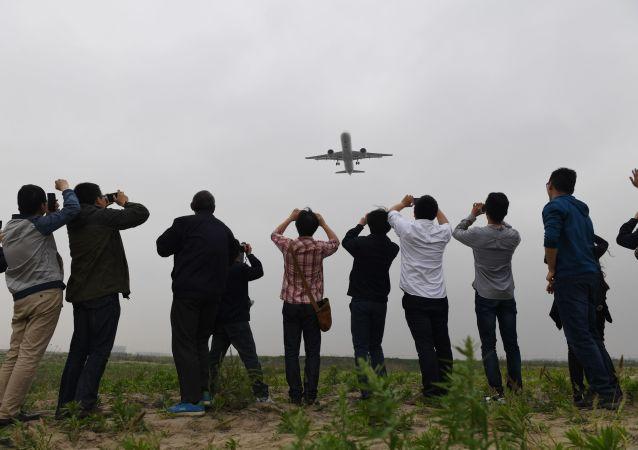 Samolot C919 chińskiej produkcji