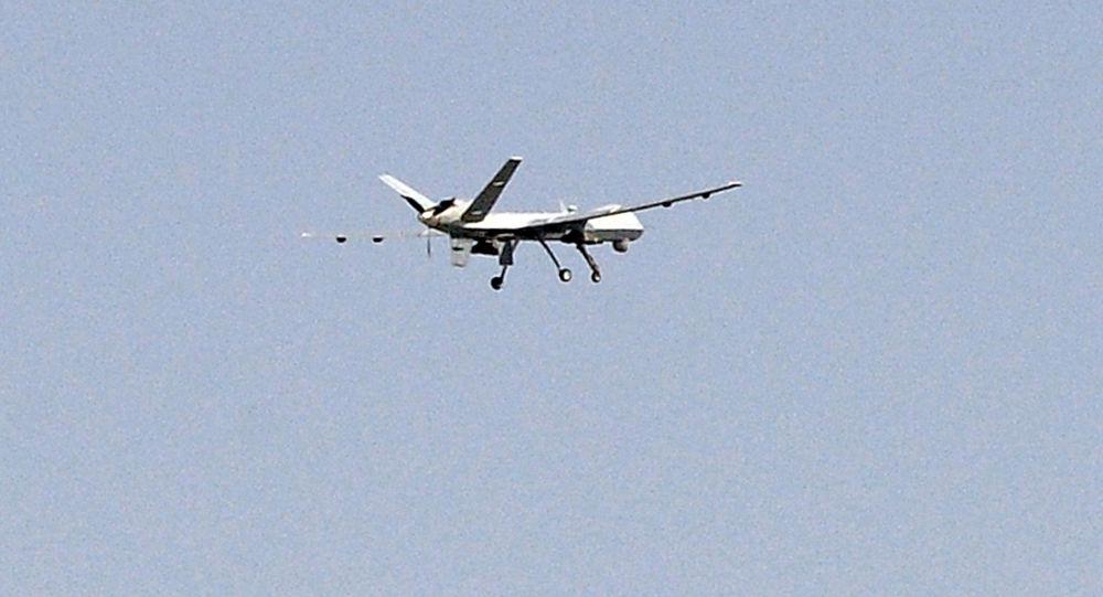 Amerykański bezzałogowy bojowy aparat latający MQ-9 Reaper