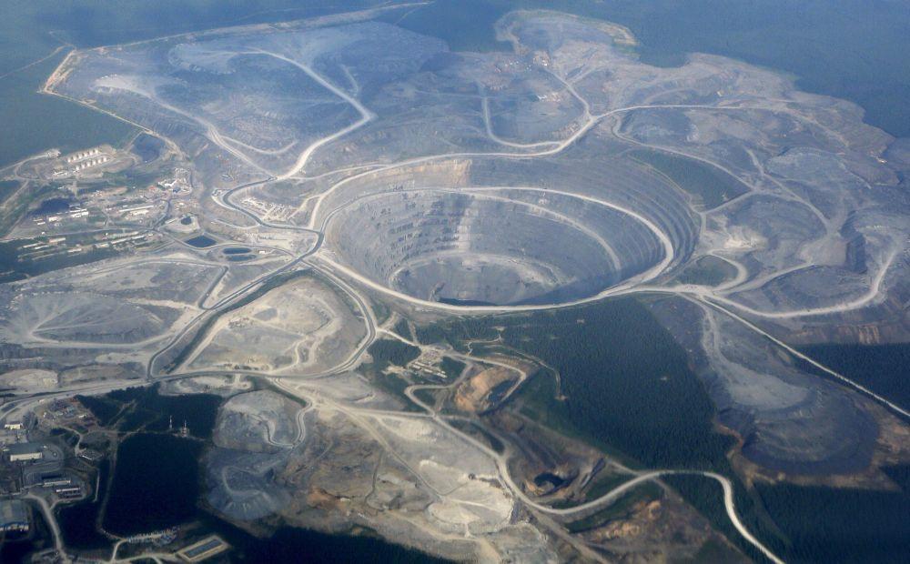 Kopalnia złota Olimpiada na Wschodniej Syberii