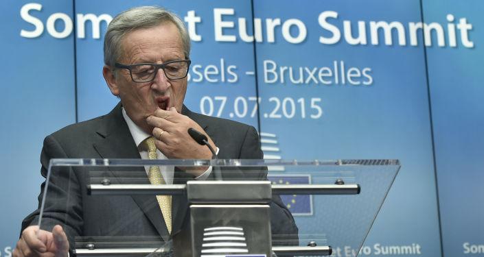 Przewodniczący Komisji Europejskiej Jean Claude Juncker