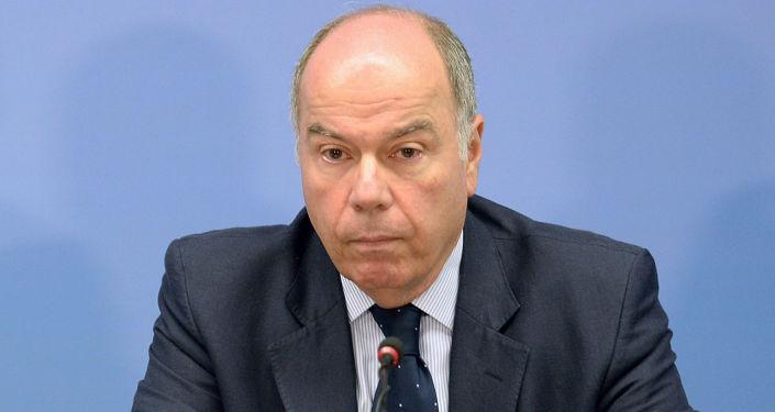 Minister spraw zagranicznych Brazylii Mauro Vieira