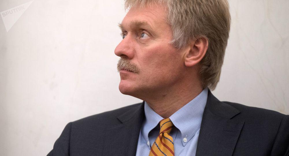 Rzecznik prasowy prezydenta Dmitrij Pieskow
