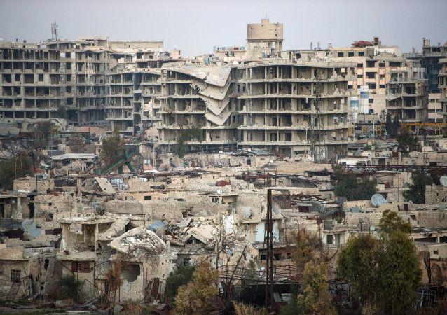 Dżobar - dzielnica Damaszku kontrolowana przez Dżabhat an-Nusrę