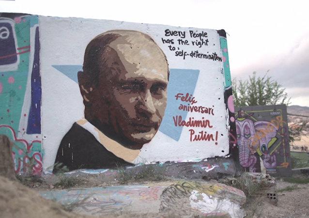 Jak europejscy artyści złożyli życzenia Putinowi