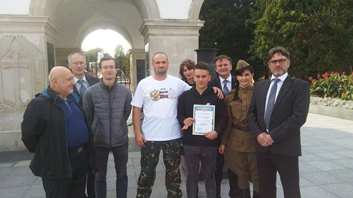 Warszawa: zakończenie I Rajdu Przyjaźni Polsko – Rosyjskiej