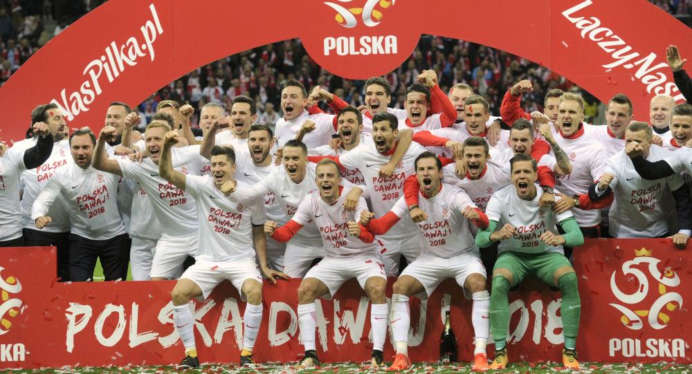 Reprezentacja Polski po meczu z Czarnogórą