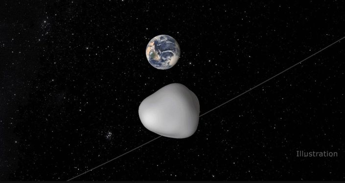 Asteroida 2012 ТС4 obok Ziemi