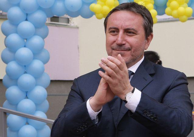 Lenur Islamow - koordynator blokady Krymu