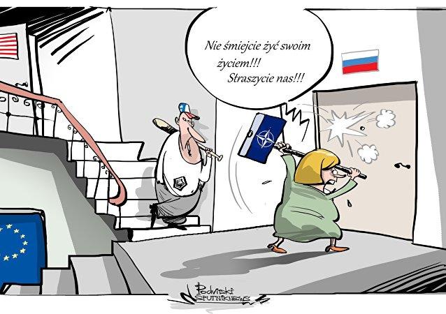 Rosja: USA rozmieściły całą dywizję przy rosyjskiej granicy