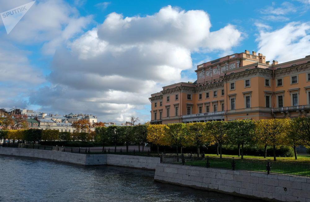 Zamek Michajłowski zwany również Zamkiem Inżynieryjnym w Petersburgu