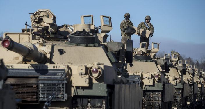 Przemieszczenie amerykańskiego sprzętu wojskowego na Litwie