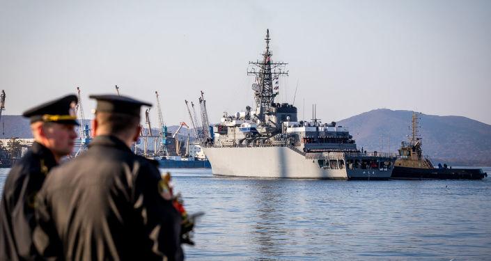 Japońskie okręty przybyły do Władywostoku