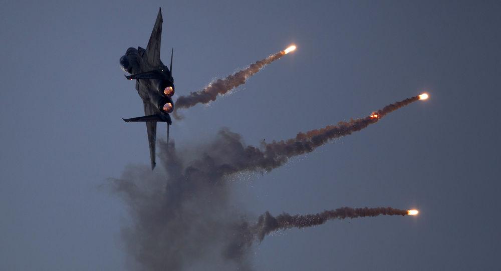 Myśliwiec izraelskich sił powietrznych. Zdjęcie archiwalne