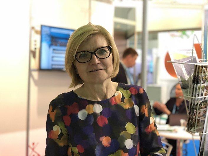Prezes Polsko-Rosyjskiej Izby Handlowo-Przemysłowej Hanna Wielgosz