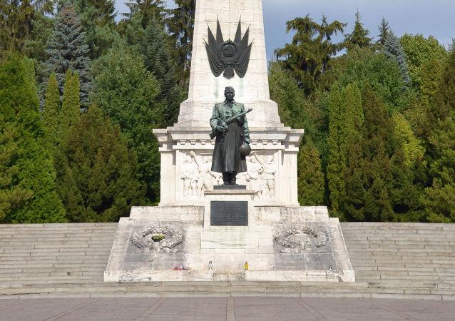 Pomnik Radzieckiej Armii w Świdniku na Słowacji