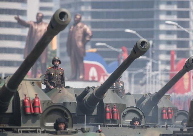 Uroczystości poświęcone 105-tej rocznicy urodzin Kim Ir Sena w Korei Północnej