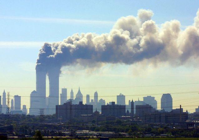 Zniszczenia w wyniku zamachu terrorystycznego 11 września w Nowym Jorku