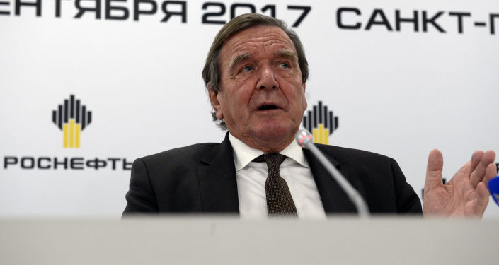 Były kanclerz Niemiec, przewodniczący rady dyrektorów spółki Rosnieft Gerhard Schröder