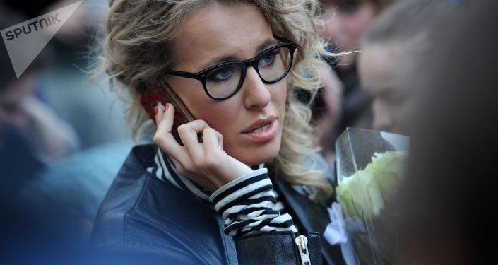 Prezenterka telewizyjna Ksenia Sobczak