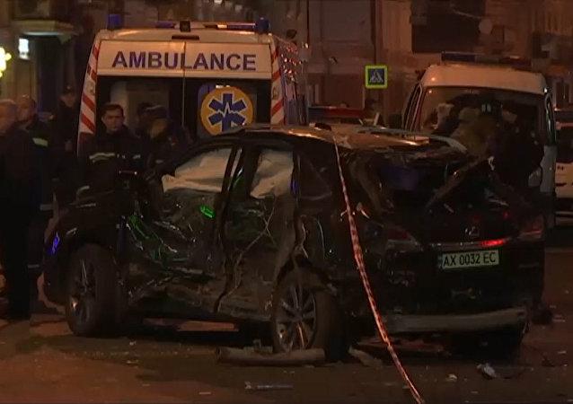 Wypadek  w Charkowie