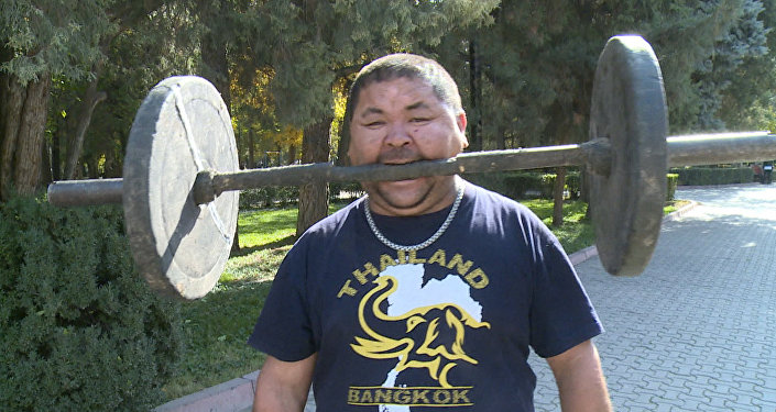 Siłacz z Kirgistanu