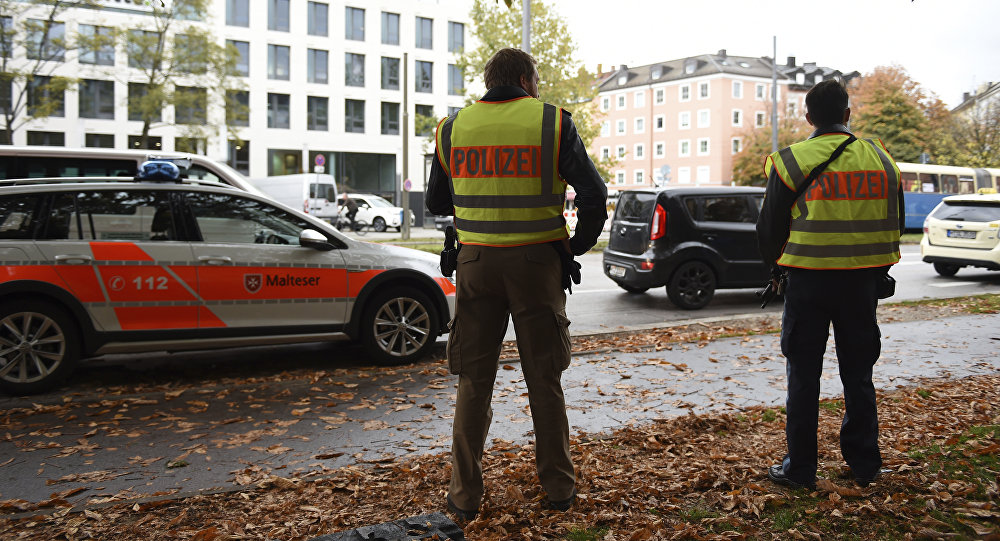 Atak nożownika w Monachium