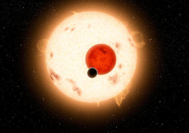 System planetarny z dwoma słońcami Kepler-16