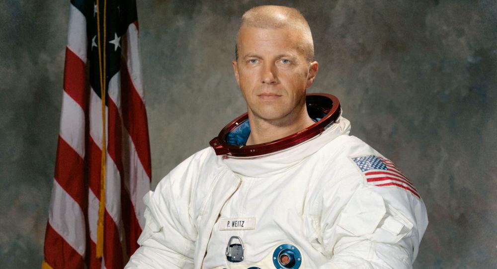 Amerykański astronauta Paul Weitz
