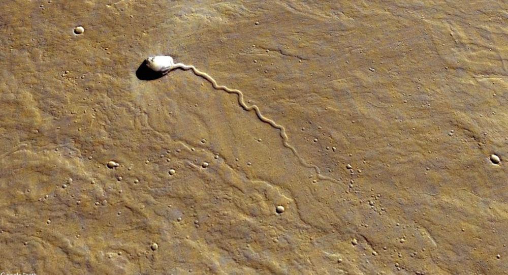 Niezidentyfikowany obiekt na Marsie