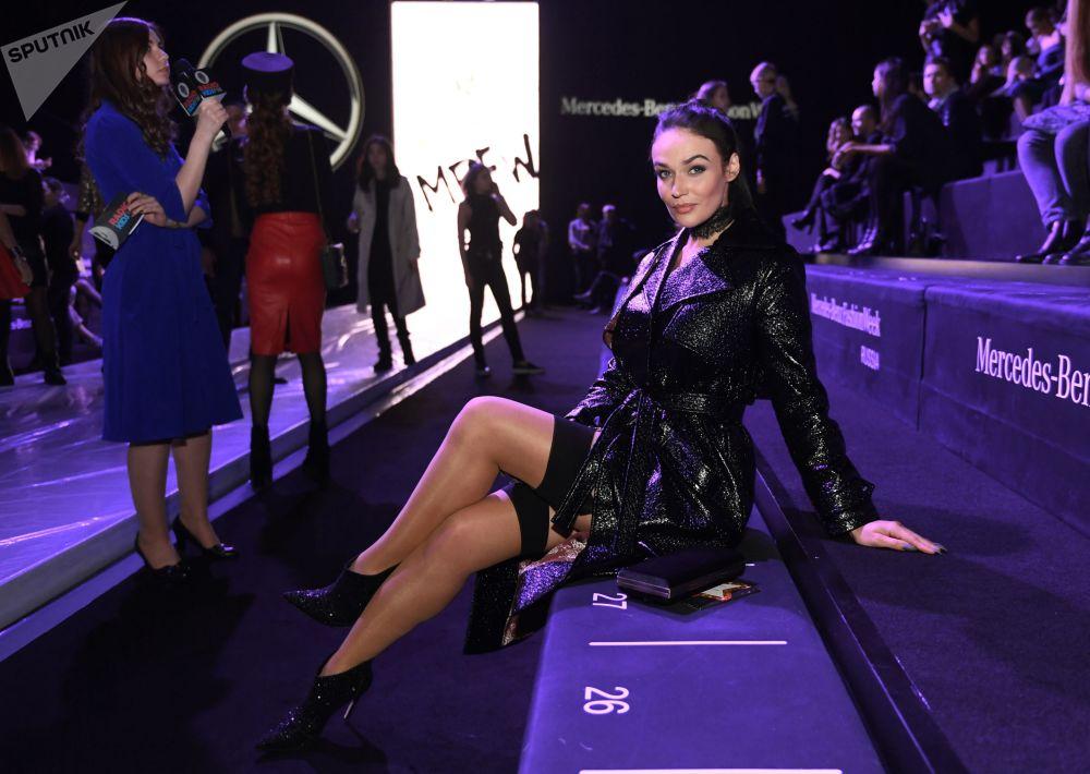 Pokaz mody Mercedes-Benz Fashion Week Russia w Moskwie