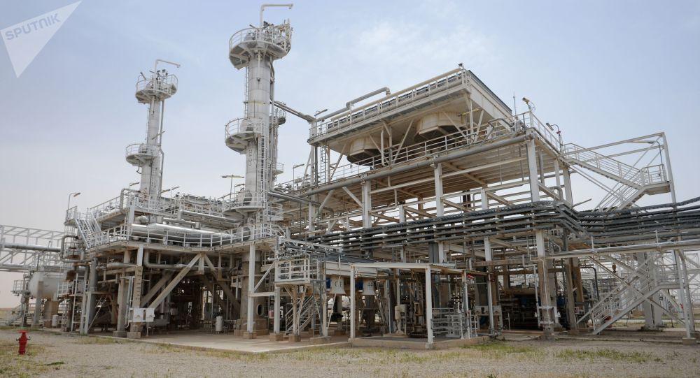 Zakład przetwarzania gazu w Furlus w Syrii