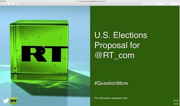 Propozycja reklamowa Twittera dla RT