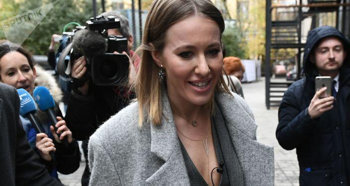 Dziennikarka i celebrytka Ksenia Sobczak