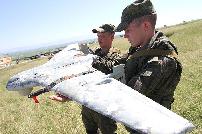 Testy rosyjskiego samolotu bezzałogowego Eleron-3SW