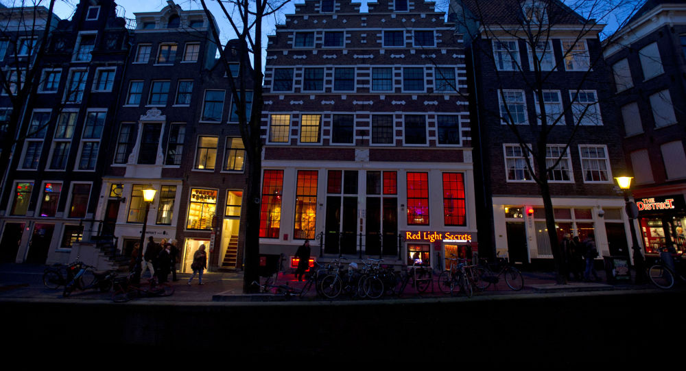 Muzeum Red light secrets w Amsterdamie