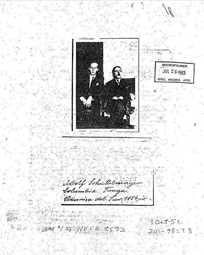 Zdjęcia dołączone do plików CIA o rzekomej obecności Hitlera w Ameryce Południowej