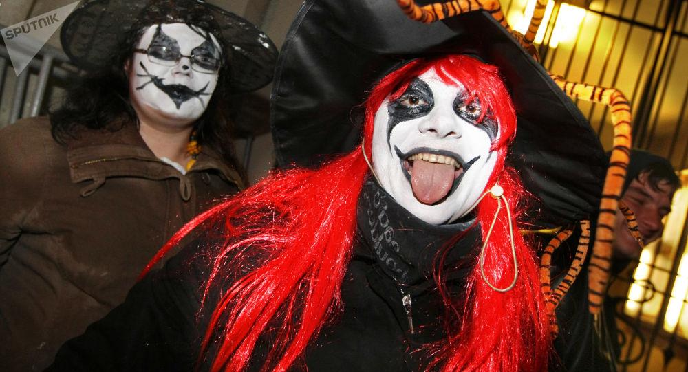Obchody Halloween w Moskwie