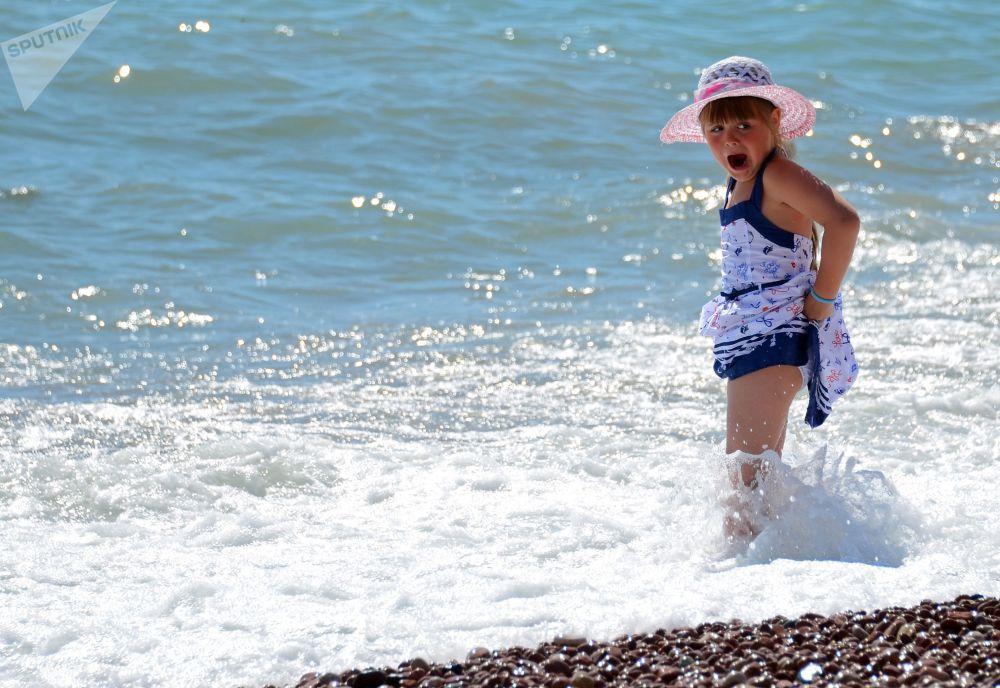 Plaża w Ałuszcie