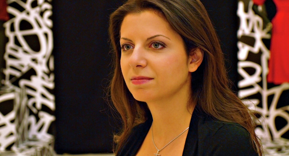 Redaktorka naczelna agencji Rossiya Segodnya i telewizji RT Margarita Simonyan