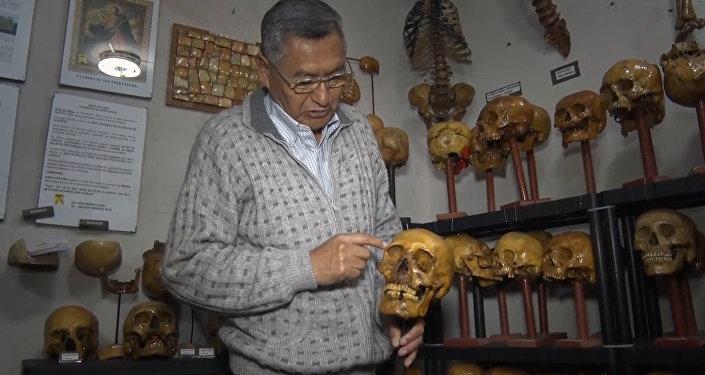 Dzieła sztuki z ludzkich kości