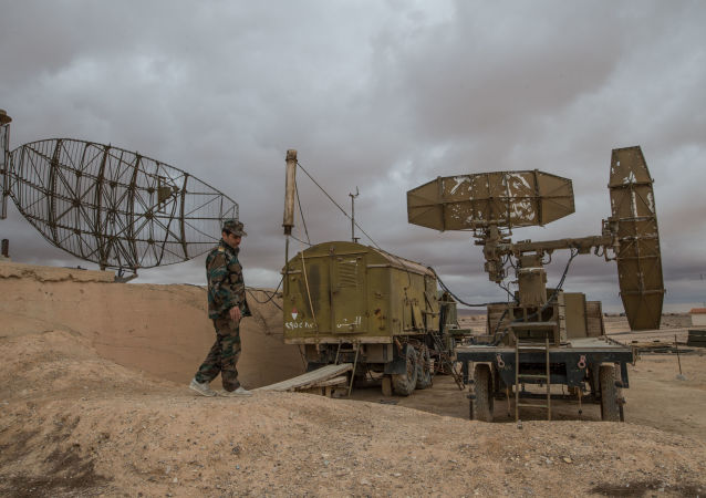 Baza syryjskich sił powietrznych w prowincji Homs