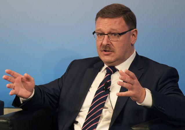 Przewodniczący Komitetu Rady Federacji do Spraw Międzynarodowych Konstantin Kosaczew