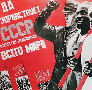 Plakaty z pierwszych lat władzy radzieckiej