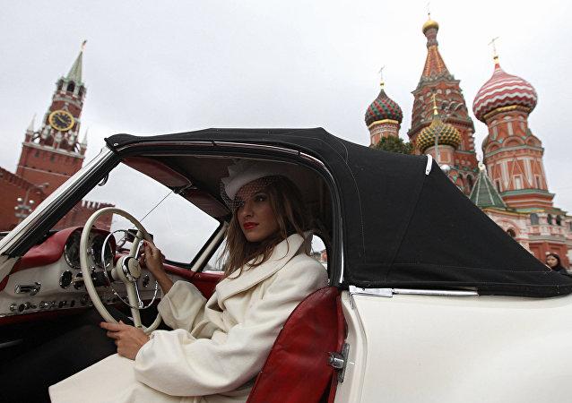 Rajd Od przeszłości do przyszłości w Moskwie