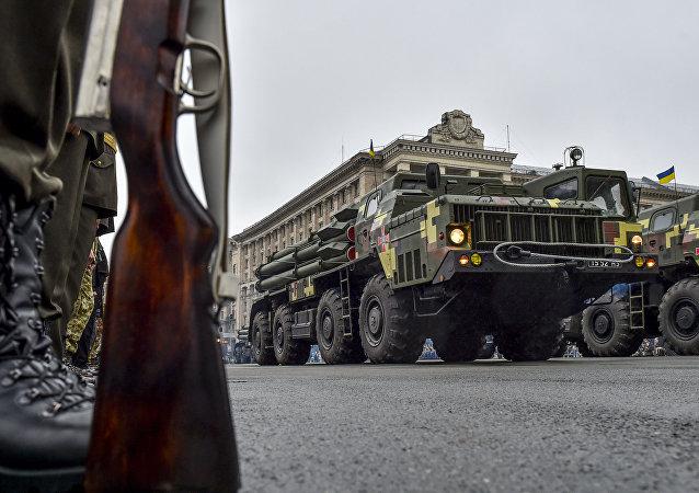 Parada wojskowa z okazji 25 rocznicy niepodległości Ukrainy