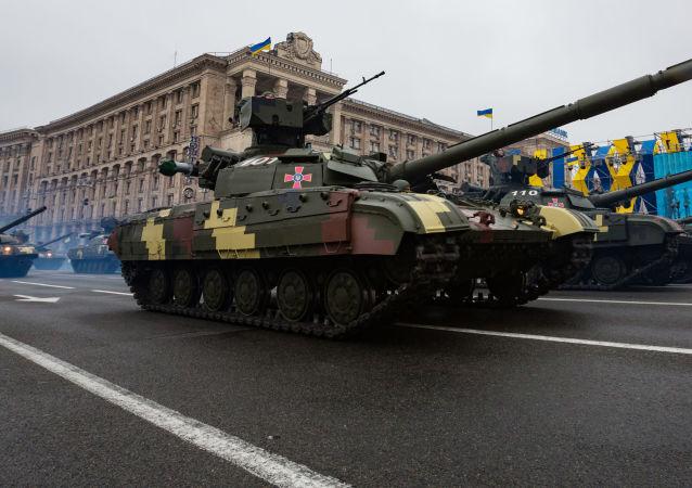 Defilada wojskowa z okazji 25. rocznicy odzyskania niepodległości przez Ukrainę
