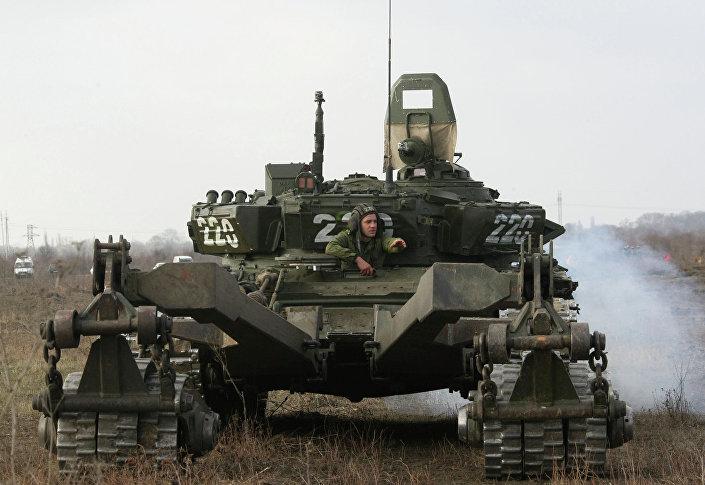 Rozminowywanie w Czeczenii