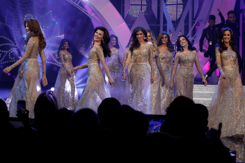 Uczestniczki konkursu piękności Miss Wenezueli 2017
