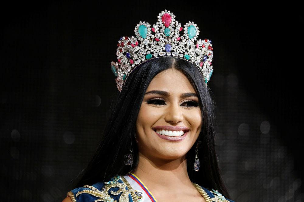 Miss Delta Amacuro, Sthefany Gutierrez - zwyciężczyni konkursu piękności Miss Wenezueli 2017