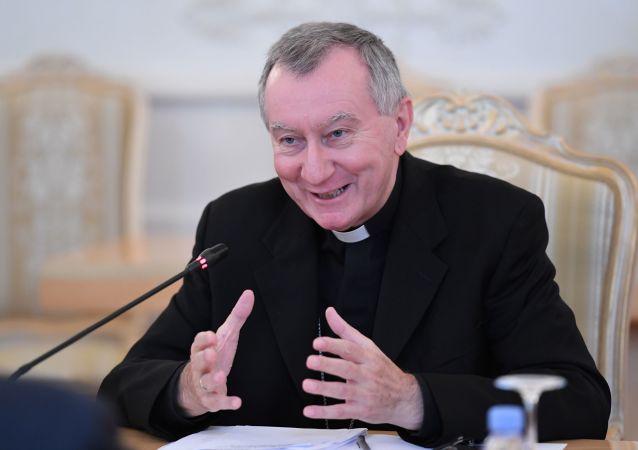 Sekretarz stanu Stolicy Apostolskiej kardynał Pietro Parolin